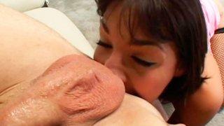 Licking boyfriend's ass