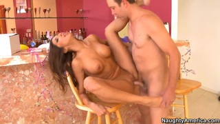 Will Powers gets seduced by sexy Kayla Carrera