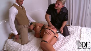 Kathia Nobili is fond of being double penetrated
