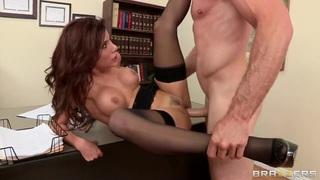 Sexy Aleksa Nicole is fucking at work