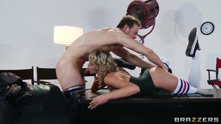 Wonderful wild sex in the office with Erik Everhard and Mia Malkova