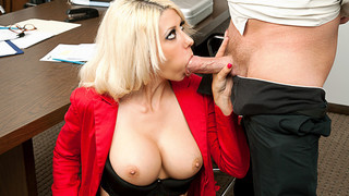 Jazy Berlin & Mark Wood in Naughty Office