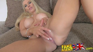 FakeAgentUK South African babe put through paces