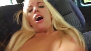 Busty blonde gets stranded and fucked