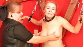 OldNanny Granny like BDSM practices and fucked har