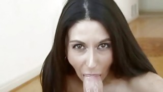 Nasty model sucking cock the best