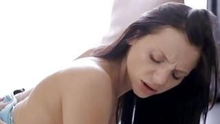 Moist gal enjoys hardcore anal fucking experience