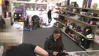 Two Bitches Tried To Shoplift At The Pawnshop