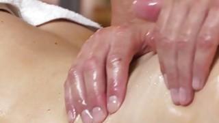 Pierced cunt beauty bangs after massage
