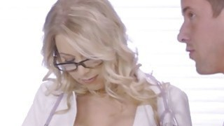 Charming slut Katie Morgan fuck in standing positi