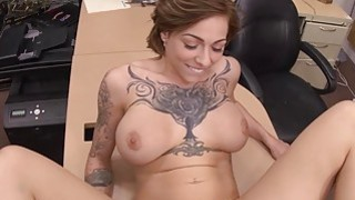 Tattoo artist pounded by nasty pawn dude