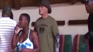 African party sluts sucking fucking big black cock