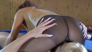Lieila&Margo nasty pantyhose movie