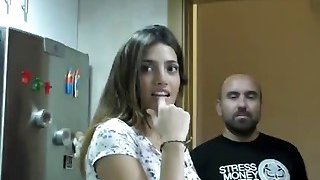 A very sexy Latin real estate agent gets fucked hard by her horny client