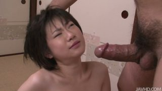 Hardcore mouth drilling for Japanese girl Ito Aoba