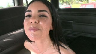 Car floosie Samantha gets dirty fucked